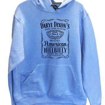 UNISEX HOODIE - Daryl Dixon's American Hillbilly - FUNNY MENS AND WOMENS HOODED SWEATSHIRTS - 2309