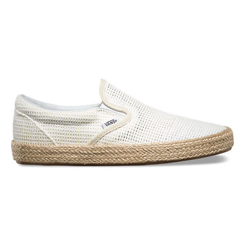Mesh Slip-On Espadrille | Shop Womens Shoes at Vans