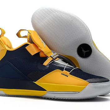 Air Jordan 33 XXXIII - Navy/Yellow