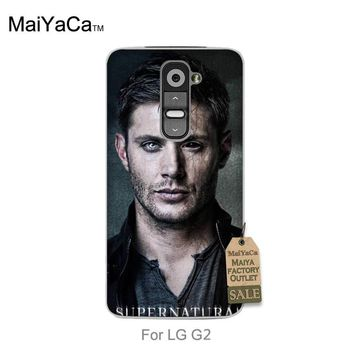 MaiYaCa Top Detailed Popular phone case For case LG G2 Supernatural Dean Winchester