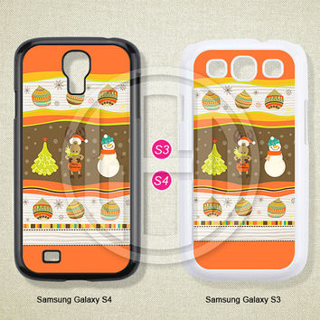 Samsung Galaxy S3 S4 S5 Case, Samsung Galaxy Note 2 3 case, Christmas, Case for Samsung -S0674