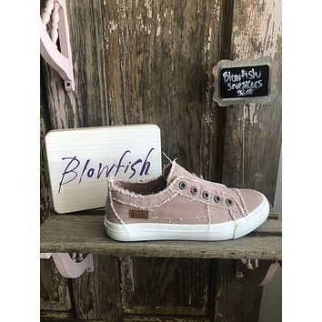 Blowfish Play Sneakers in Dirty Pink Hipster  (7-11)
