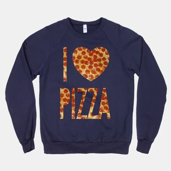 I Heart Pizza (crew neck)