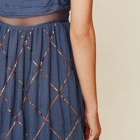 Free People Smoke and Mirrors Maxi Dress