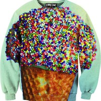 ☮♡ Ice Cream Sprinkles Sweater ✞☆
