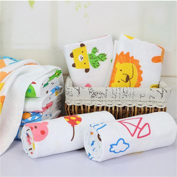 Cute Enlarged Cartoon Baby Bath Soft Towel Blanket