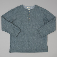 EXTRA NEPPY INDIGO CHAMBRAY EL SEGUNDO SHIRT :: HICKOREE'S