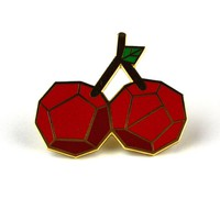 Cherry Enamel Pin