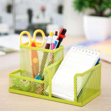 Iron Storage Box Set Pen Metal Stationary 20x10x10 CM [6377497988]