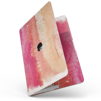 Pinkish 432 Absorbed Watercolor Texture - MacBook Pro without Touch Bar Skin Kit