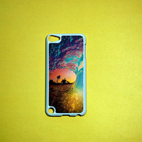 iPod Touch 5 Case, Colorful Waves iPod touch 5 Case, iPod touch 5G Cover,Case for iPod touch 5