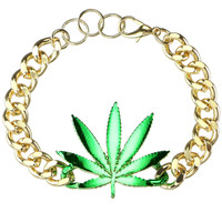 WEED CHAIN BRACELET