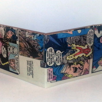 Comic Book Wallet// Batman, Jericho, Donna Troy, Negative Man, and Amethyst react to Flash dying