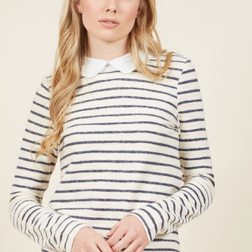 Enterprising Exec Striped Top