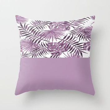 Botanical Leaves vs Violet by ARTbyJWP