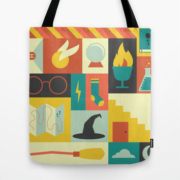 King's Cross - Harry Potter Tote Bag by Ariel Wilson