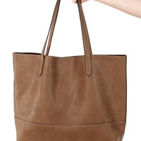 Rockefeller Tote - Taupe