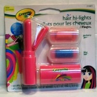 Crayola Hair Hi-Lights by Fing'rs