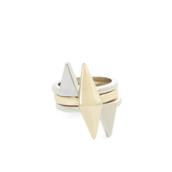 3-RING DIAMOND SET in Gold - BCBGeneration