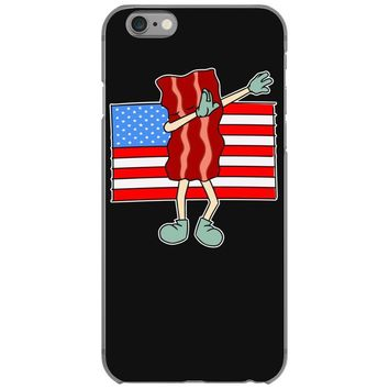 bacon american flag dab iPhone 6/6s Case