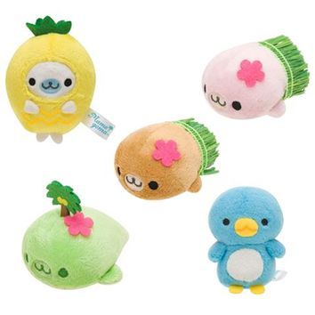 Mamegoma in Paradise Mini Plush