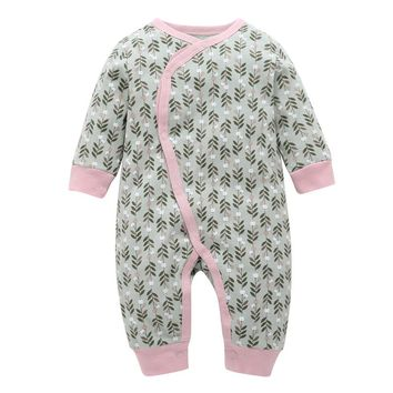 2018 new baby clothes for 0-24m 100% cotton newbron baby girl Pajamas Overalls winter baby boy one-piece romper thickening