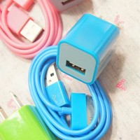 Colorful Charger Cable for iPhone 4/4s