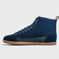YOURS - The Cohen - Dress Blue/Gum Sole