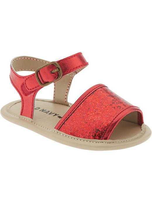 Old Navy Metallic Sandals For Baby from Old Navy