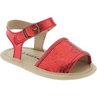 Old Navy Metallic Sandals For Baby