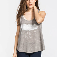 Billabong All We Do Womens Tank Grey  In Sizes