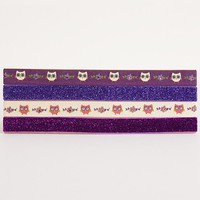 Owls  Dazzle  Headbands    From  Natural  Life
