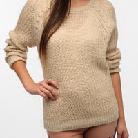 Urban Outfitters - BDG Cable Knit Raglan Sweater