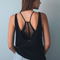 Slash Racer Back Seamless Bralette