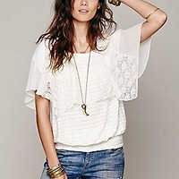 Free People  Cotton Candy Dreams Top at Free People Clothing Boutique