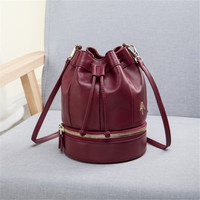 Manu Atelier Beauty On Sale Hot Sale Hot Deal Stylish Vintage Leather Strong Character One Shoulder Bags Chain Make-up Bag [6394974980]
