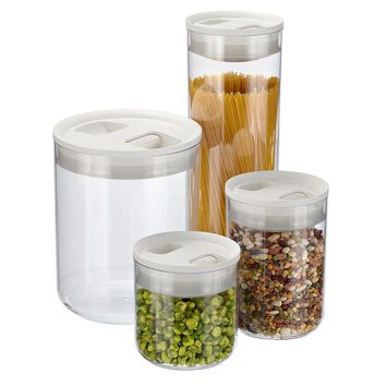Click Clack Pantry Canisters