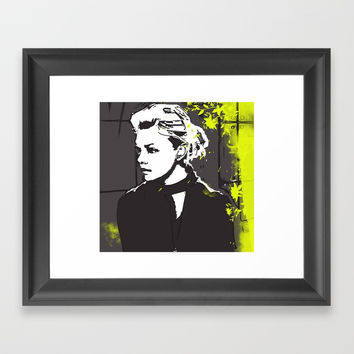 Chic Framed Art Print by allisonreich
