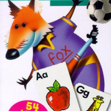 Alphabet: Flash Cards (PACK OF 12)