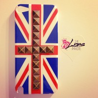 Bronze stud British Flag iPod 5th Gen Case