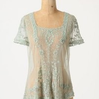 Serissa Tulle Blouse - Anthropologie.com