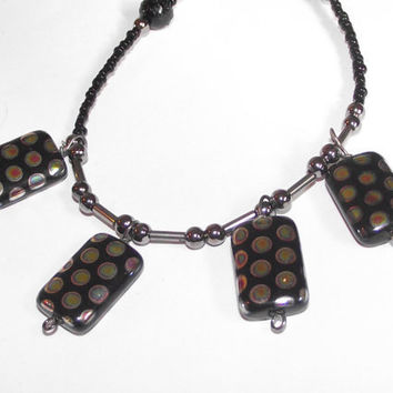 Polka dot necklace