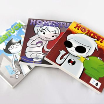 Homestuck Book Set: Volumes 1-3