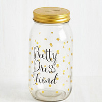 Quirky Clothes to Your Heart Coin Bank by ModCloth