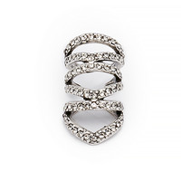 DailyLook: House Of Harlow 1960 EQUATOR EAR CUFF in Silver One Size