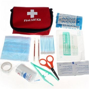 Stylish Travel Camping Medical Emergency First Aid Kit Survival Bag Treatment Pack Set Home Wilderness Survival Free Shipping