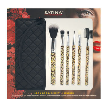Satina Look Book: Perfectly Brushed