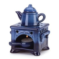 Country Kitchen Ceramic Kettle Stove Oven Oil Warmer