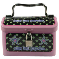 Happy Bunny - Cute But Pyscho Mini Lunch Box