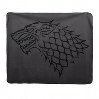 Game of Thrones Distressed House Stark Fleece Blanket
